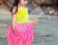 Neon Renkli Elbise