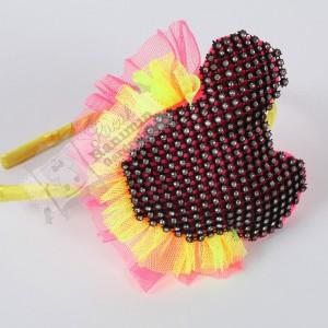 Neon Minnie Mouse Taç
