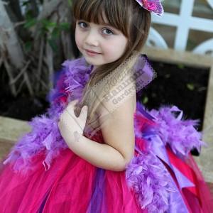 Fuşya Tütü Elbise
