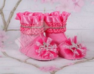Prenses Taçlı Bebek Botu