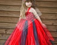 Kırmızı Tütü Elbise