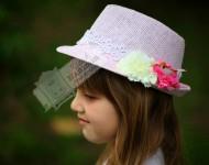 Dantelli Şapka