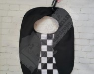 Kravatlı Siyah Önlük